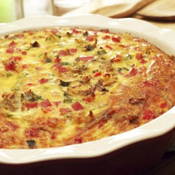 Photo of Bell Pepper Frittata