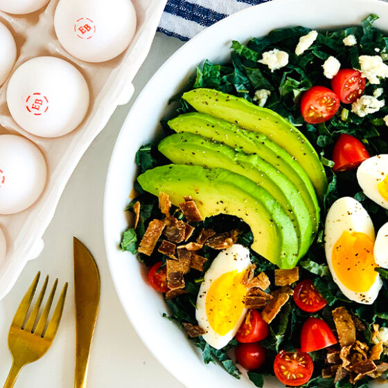 Photo of Kale Cobb Salad
