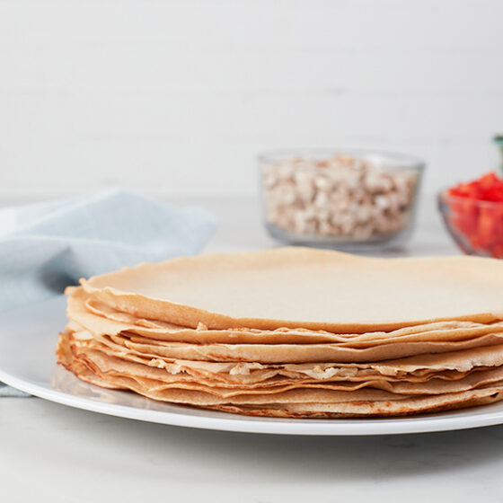 Photo of Egg White Crepes