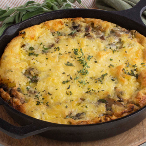 Photo of Mushroom & Onion Dutch Baby