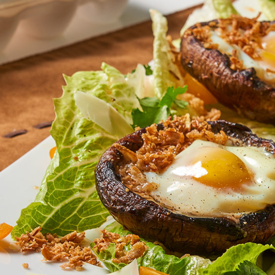 Photo of Egg Portobello Boats