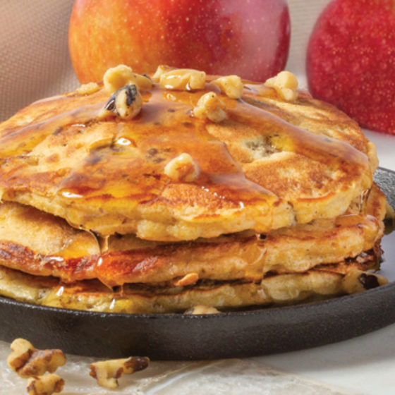 Photo of Sausage, Apple & Walnut Johnnycakes