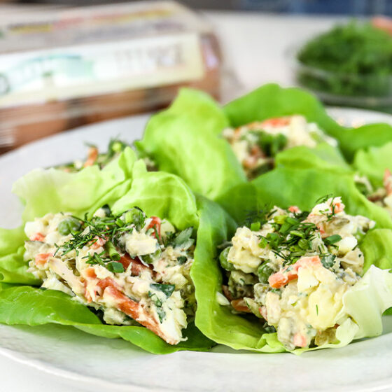 Photo of Persian Egg Salad (Salad Olivieh)