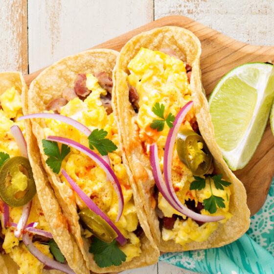 Photo of Chorizo & Egg Breakfast Tacos