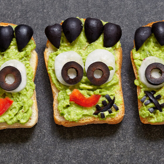 Photo of Frankenstein Avocado Toast