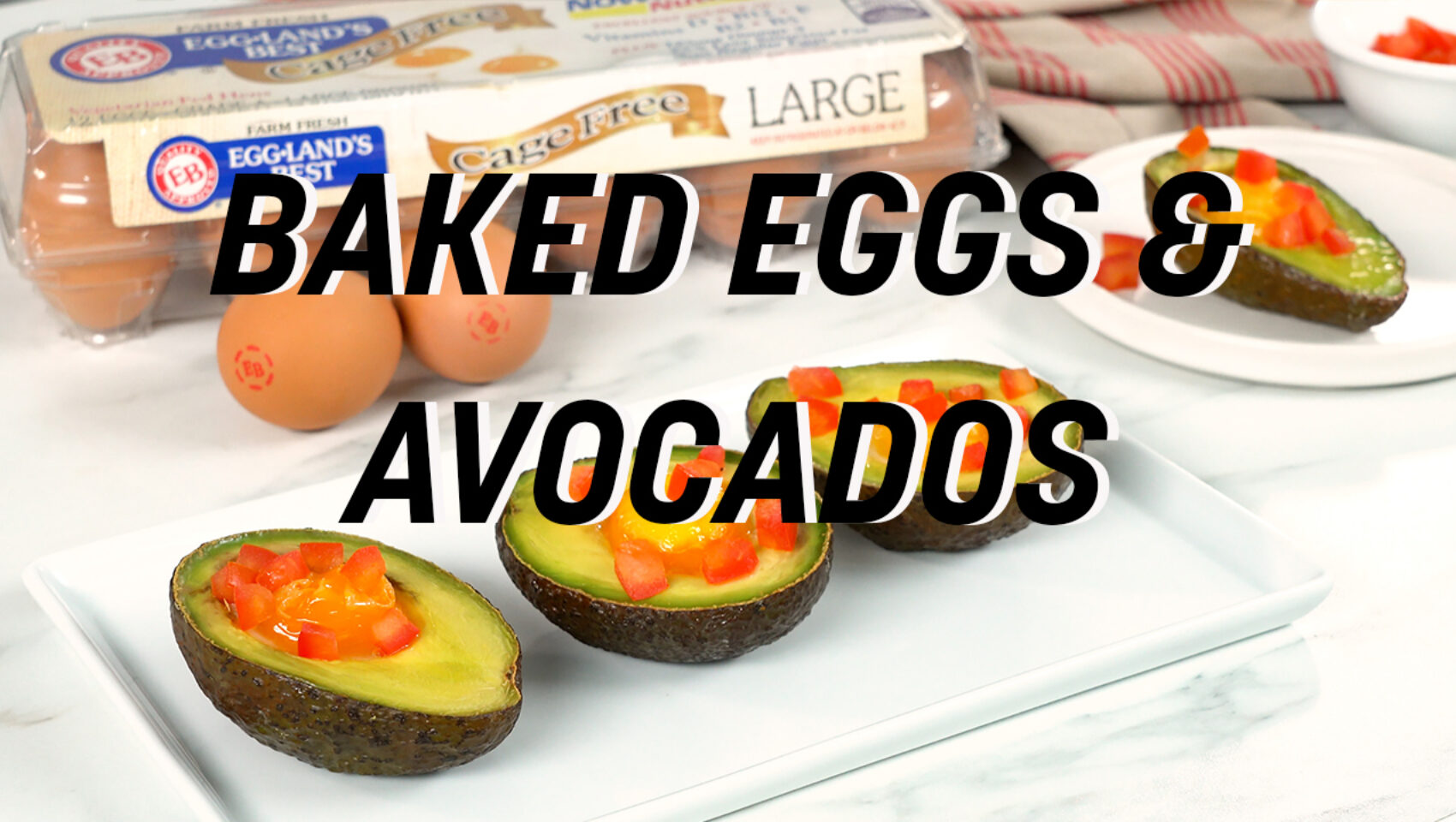 Baked Eggs Avocados to Fuel Your Brain YT Cover