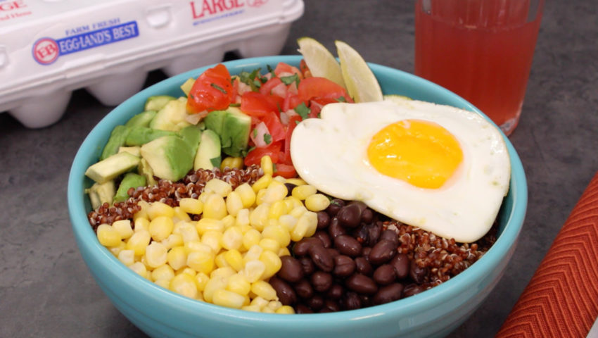 Protein Packed Quinoa Bowl YT