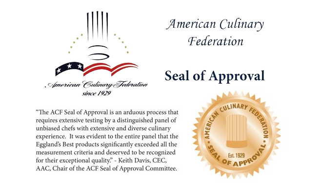 Eggland's Best Earns Seal of Approval from American Culinary Federation