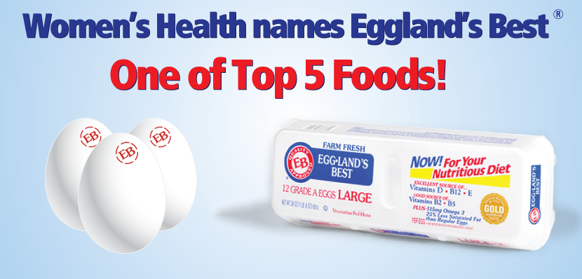 Eggland's Best Named a Top Five Food for a Healthier You