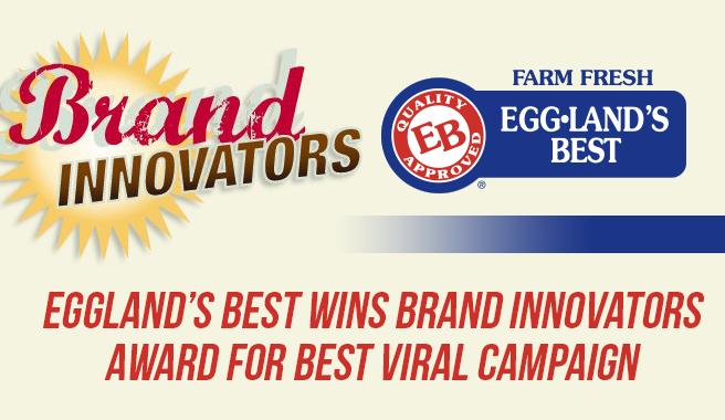 Eggland's Best Wins Brand Innovators Award for Best Viral Campaign