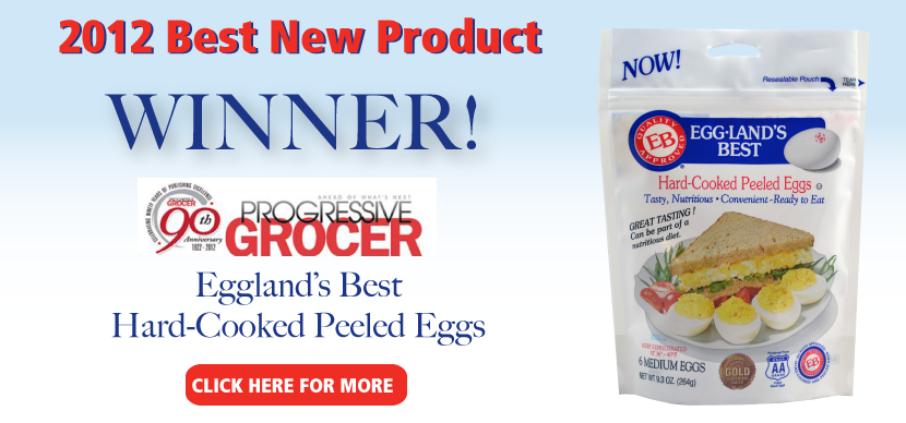 "Eggland's Best Awarded ""Best New Product"" from Progressive Grocer"