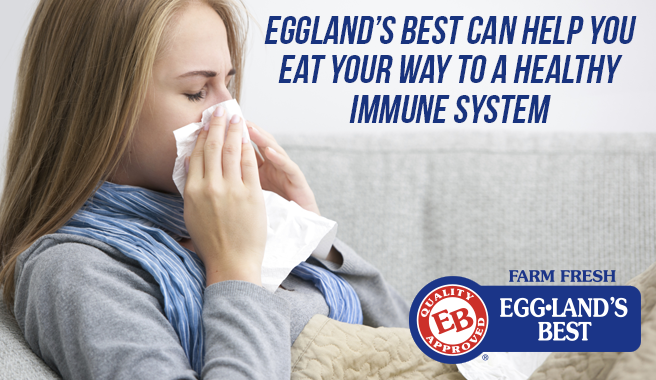 Eggland's Best Can Help You Eat Your Way to a Healthy Immune System