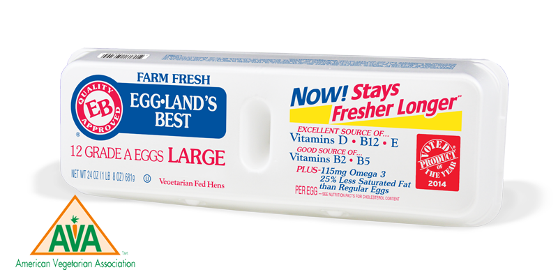 Eggland's Best Earns American Vegetarian Recommended Product Seal