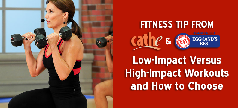 Cathe Tip: Low-Impact Versus High-Impact Workouts and How to Choose