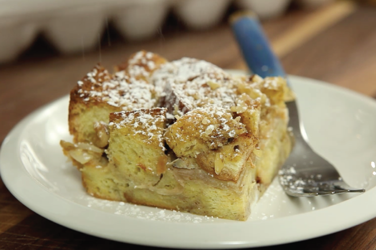 EB Pear & Vanilla French Toast Bake