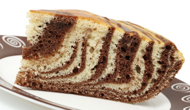 Golden Marble Pound Cake