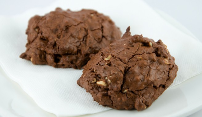 Chocolate Hazelnut Espresso Cookies