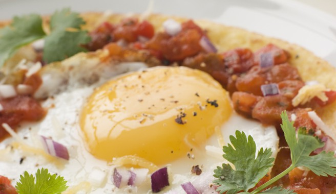 Easy Mexican Eggs