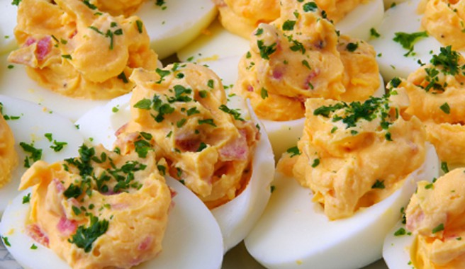 Coaches Deviled Eggs