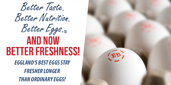 New Study Reveals Eggland's Best is the Leader in Egg Freshness