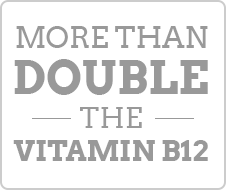 More Than Double the Vitamin B12