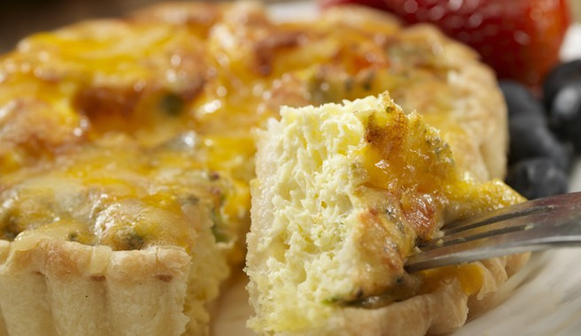 Sweet Corn Quiche