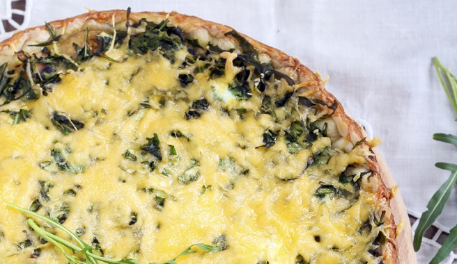 Ricotta Spinach Quiche