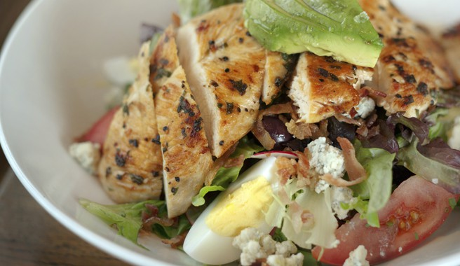 Cobb Salad with Dijon Vinaigrette Dressing