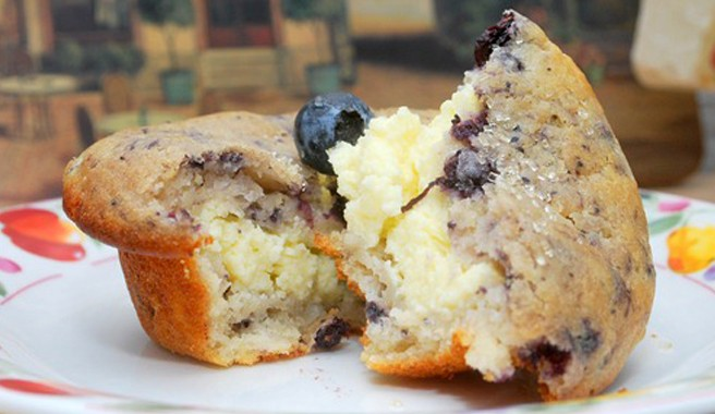 Blueberry Surprise Muffins