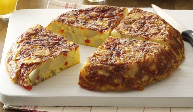 Potato and Egg Spanish Torta