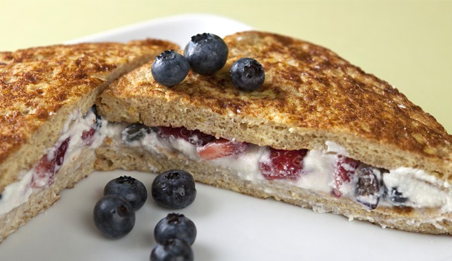 Berry Delicious Stuffed French Toast Sandwiches
