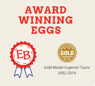 Gold Medal Superior Taste – Cage Free Eggs