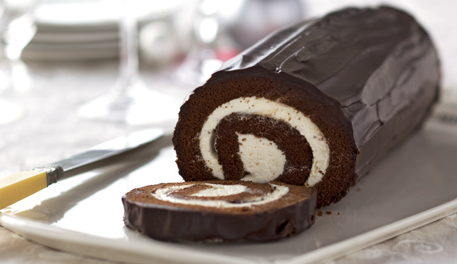 Chocolate Cake Roll