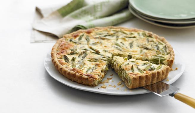 Asparagus & Parmesan Tart