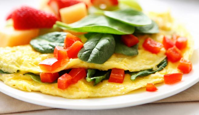 Inside Out Omelet
