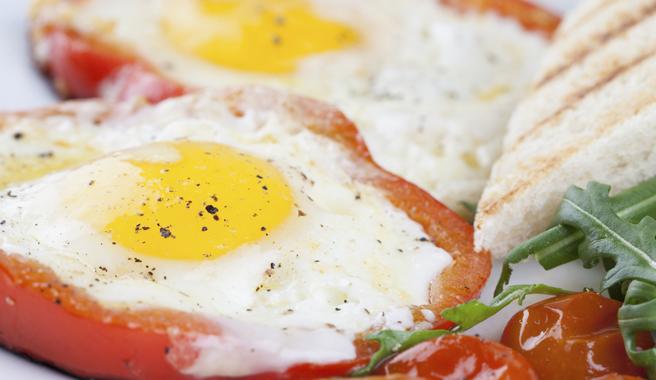 Egg & Tomato Melt