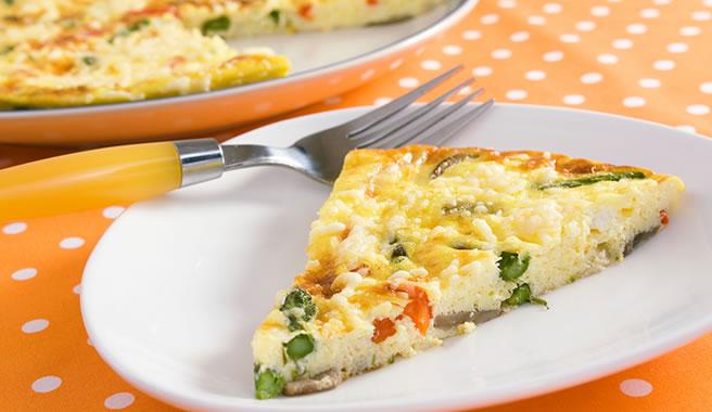 Meli Cafe's Savory Frittata