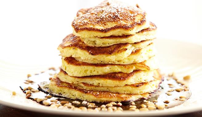 Meli Cafe's Peanut Butter Pancakes