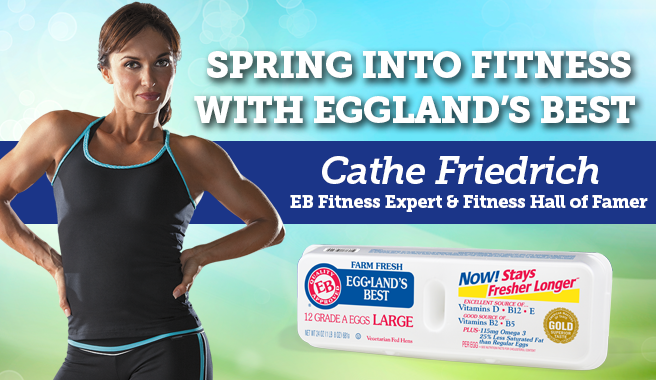 Spring Into Fitness with Eggland's Best