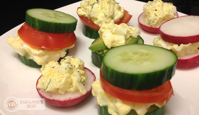Skinny Egg Salad Sandwiches