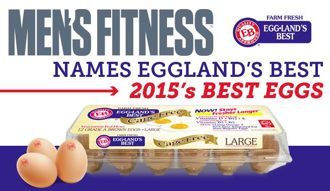 """Men's Fitness Names Eggland's Best """"Best Eggs"""""""