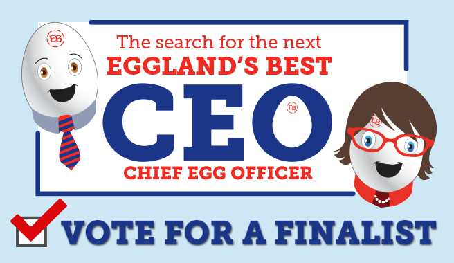 "Eggland's Best Reveals Finalists in its ""CEO"" (Chief Egg Officer) Contest"