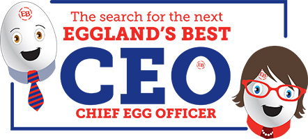 ANNOUNCING OUR NEXT CHIEF EGG OFFICER