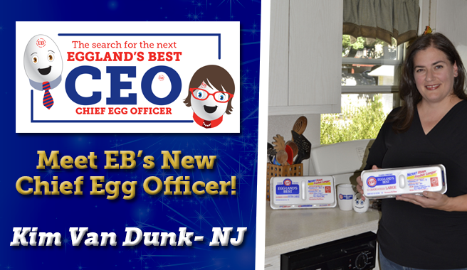 """Eggland's Best Reveals Its New """"CEO"""" (Chief Egg Officer)!"""
