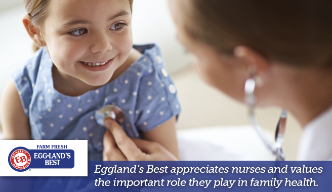 Eggland's Best Supports Nurses Nationwide