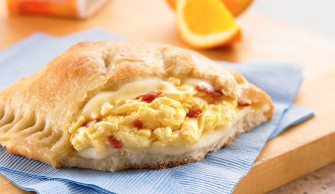 Bacon, Egg, Cheese Hand Pies