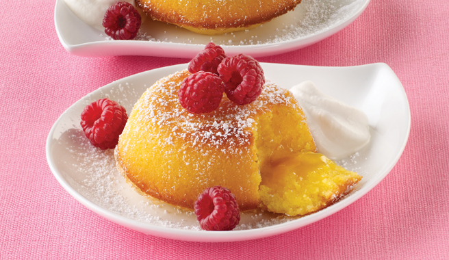 Lemon Molten Cake