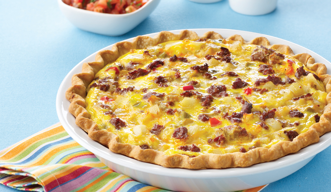 South of the Border Breakfast Pie