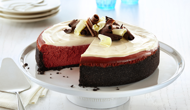 NY-Style Red Velvet Cheesecake