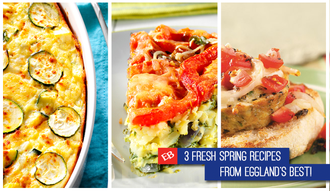3 Fresh Spring Recipes from EB